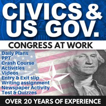 Congress at Work - Civics - Chapter 6 - Holt