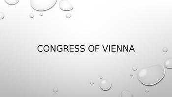 Congress of Vienna Power Point