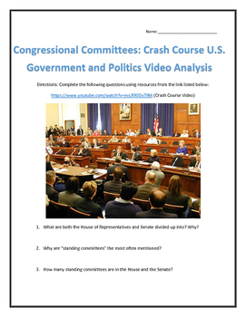 Congressional Committees: Crash Course U.S. Government and Politics Analysis