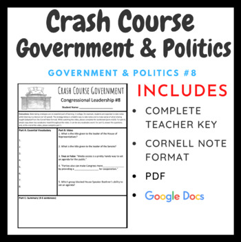 Congressional Leadership: Crash Course Government and Politics #8