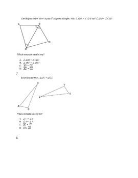 Congruence Practice