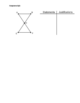Congruence Quiz