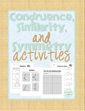 Congruence, Similarity, and Symmetry Activities