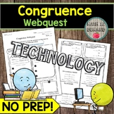 Congruence Webquest (Congruence Theorems and Statements) D