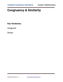 Congruence and Similarity