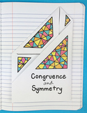 Doodle Notes - Congruence and Symmetry Foldable by Math Doodles