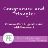 Congruence and Triangles (Lesson with Homework)