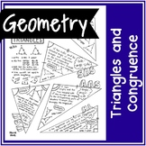 Congruence of Triangles   Handwritten Notes + BLANK VERSION