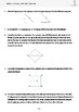 Congruence of Triangles Quiz