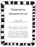 Congruency Concentration