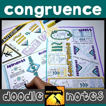 Congruence Doodle Notes