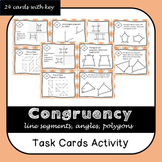 Congruency Task Cards SOL 6.9