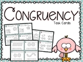 Congruency Task Cards (Boom Cards also Included)