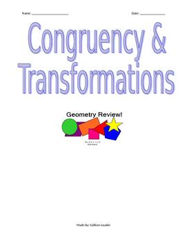 Congruency & Transformations