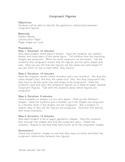 Congruent Figures Lesson Plan