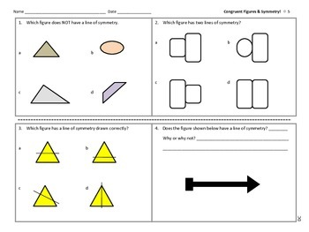 Congruent Figures and Symmetry