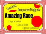 Congruent Polygons -- Amazing Race Game