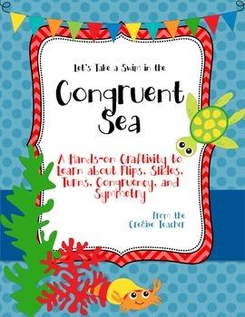 Congruent Sea Craftivity