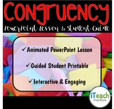 Congruent Shapes Activity : PowerPoint Lesson and Guided S