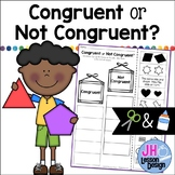 Congruent Shapes: Cut and Paste Sorting Activity