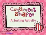 Congruent Shapes Sort