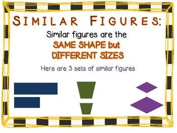 Congruent & Similar Figures Power Point [CC Aligned]