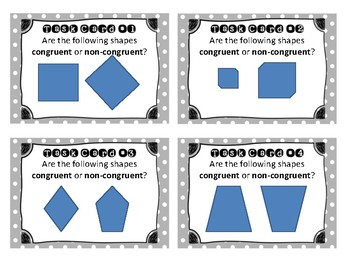 Congruent Task Cards