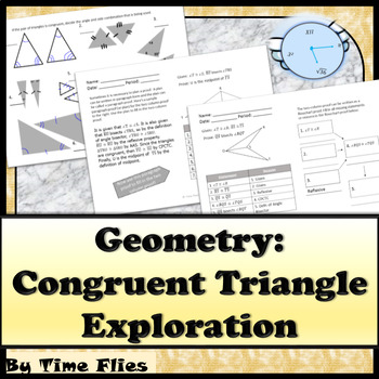 Congruent Triangle Exploration