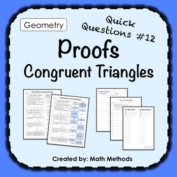 Congruent Triangle Proof: Fix Common Mistakes!