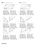 Congruent Triangle Proofs (SSS, SAS, ASA, AAS... )