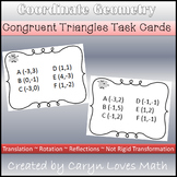 Congruent Triangle Task Cards~Coordinate Geometry Proofs