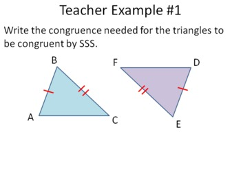 Congruent Triangle Unit