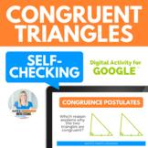 Congruent Triangles Activity for Google Drive #stemdollardeals