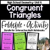 Congruent Triangles (Geometry Bundle #4)