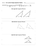 Congruent Triangles Guided Notes (including Included angle