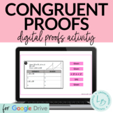 Congruent Triangles Proofs Activity DIGITAL VERSION
