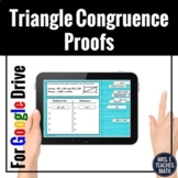 Congruent Triangles Proofs Digital Activity for Distance Learning