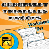 Congruent Triangles Proofs - Two Column Proof Practice and Quiz