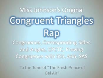 Congruent Triangles Rap