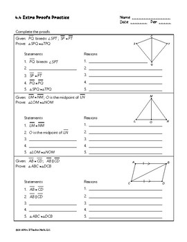 Congruent Triangles SSS and SAS Lesson