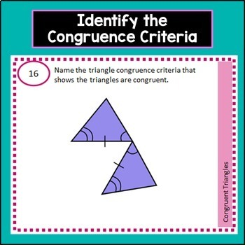 Congruent Triangles Task Cards includes Congruence as Rigid Motions and Criteria