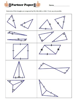 Congruent Triangles VALUE PACK