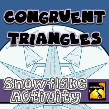 Congruent Triangles: Winter Snowflake
