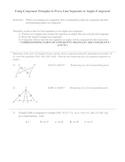 Congruent Triangles Worksheet (CPCTC)