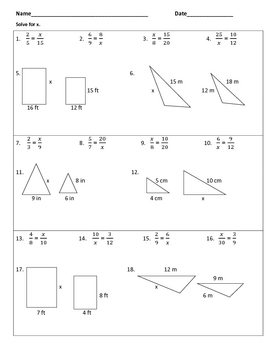 Similar Triangles by blod19 - Teaching Resources - Tes