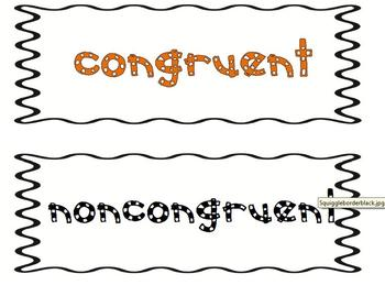 Congruent and Non-congruent Sorting