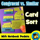 Congruent vs. Similar Card Sort