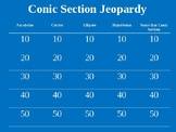 Conic Section Review Jeopardy