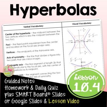 Algebra 2: Hyperbolas