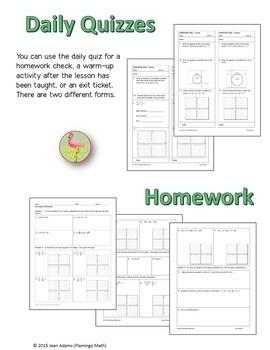 Algebra 2: Conic Sections Bundle